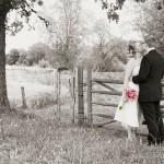 Sommarbröllop i hagen - Fotograf Peter Lindberg Göteborg