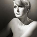Anette glam-shot - Fotograf Peter Lindberg