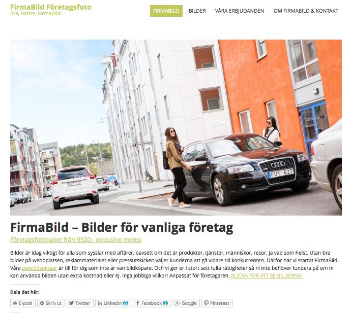 Företagsfoto - FirmaBild! Vi finns i Göteborg!
